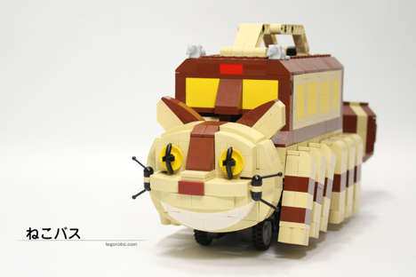 Anime Building Block Buses