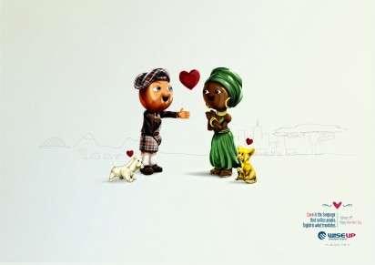 Language of Love Ads