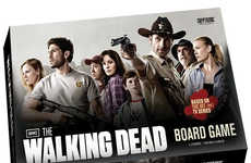Zombified Strategy Games - The Walking Dead Board Game Takes a Combination of Skill and Chance