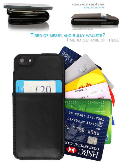 VaultSkin is the World's Slimmest Wallet Case for iPhone