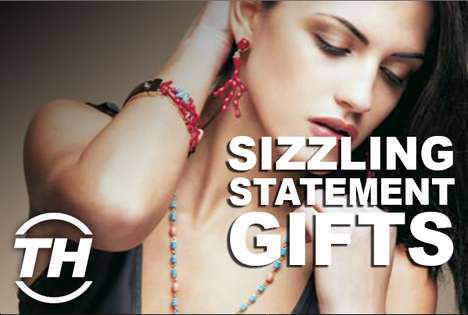 Sizzling Statement Gifts - Armida Ascano Unveils Statement Valentine's Day Gift Ideas for Her