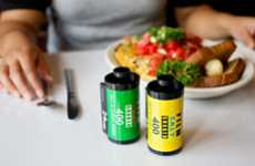 Film Canister Condiment Shakers - Bring Back Vintage Photography with This Film Canister Shaker Set