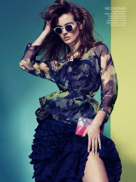 Colorfully Mature Fashion