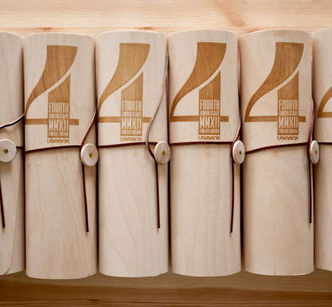 Scrolled Lumber Branding