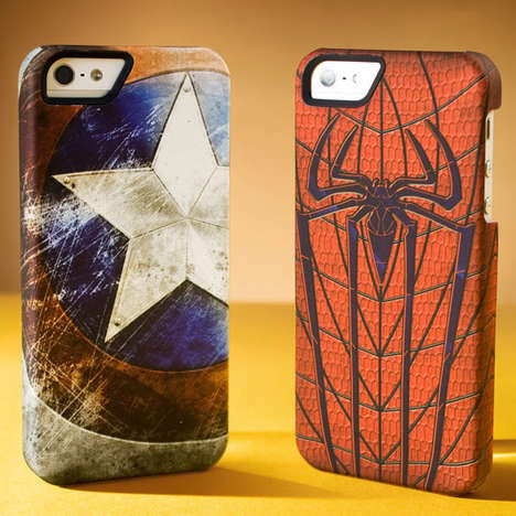 Superhero Smartphone Sheaths