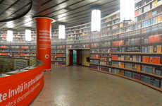 Scannable Subway Libraries - The Physical Digital Library in Bucharest Subway Lets Passengers Read