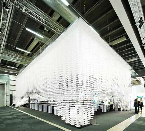 Illustrated Paper Pavilions