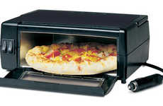Portable Pizza Makers - The RoadPro Oven is Designed for Cooking Pies in Your Car