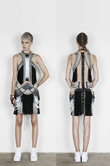 Futuristic Tribalism Fashions
