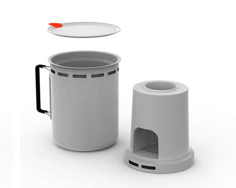 Compact Outdoor Cookers - The StudioGorm Camping Stove is Highly Portable and Resourceful