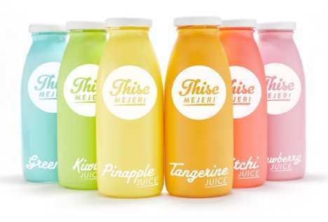 Matte Multicolored Bottles