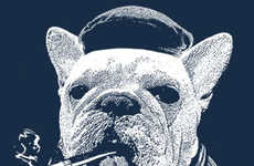 Stereotypical Pooch Tees - This French Bulldog Shirt is Quirky, Eclectic and Hilariously Proper