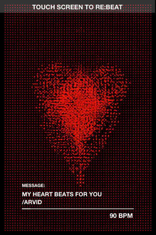 With Rebtel Valentine's Day App You Can Send Over Your Digital Heartbeats