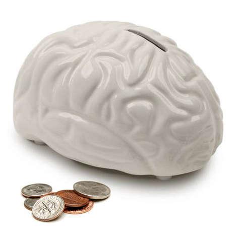 Cracked Cranium Piggy Banks