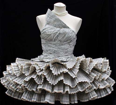 59 Paper-Made Fashions