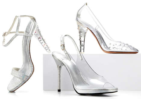 Fairytale-Inspired Glass Shoes