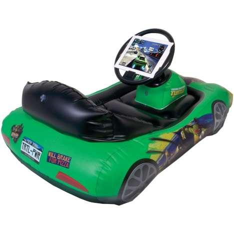 Inflatable Car Gamer Desks