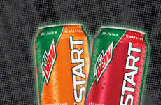 Soda-Inspired Breakfast Beverages - The Mountain Dew Kickstart Hopes to Replace Coffee and Tea