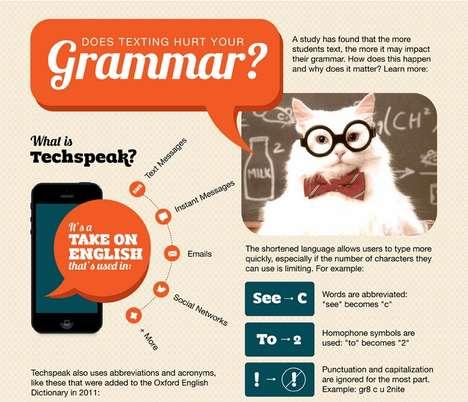 Excessive Texting Infographics