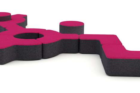 Bold Puzzling Benches