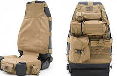 Rugged Car Seat Covers - The Smittybilt G.E.A.R. Seat Covers is Fit for Off-Roading Adventurers
