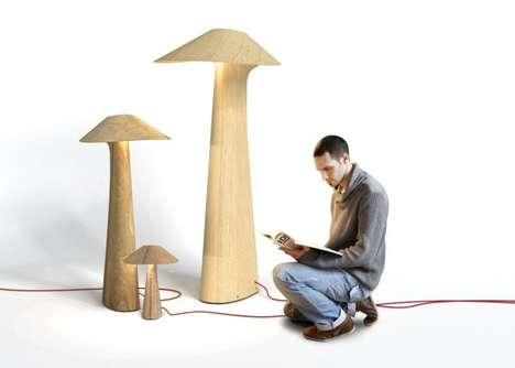 Mushroom-Like Lighting