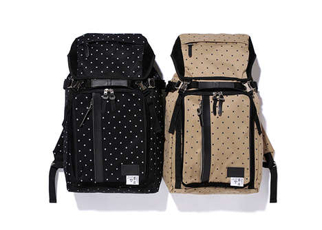 Polka Dot Duffle Bags