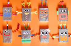 DIY Candy-Dispensing Robots - These Quirky Robots make the Perfect DIY Valentine Gifts for Children