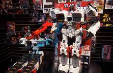 Largest Convertible Toys - The Hasbro Metroplex Stands an Impressive Two Feet Tall