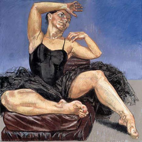 Lounging Ballerina Portraits