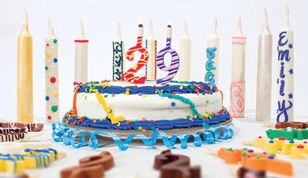 10 Boastful Birthday Cake Candles