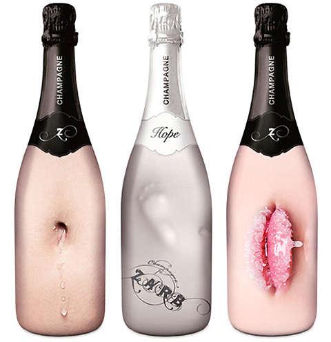 21 Enticing Champagne Bottles