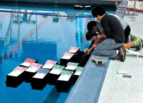 University of Pennsylvania Students Tested Out Robotic Boat Protoypes