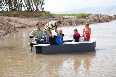 Ultra Portable Box Boats
