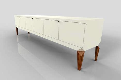 Precariously Perched Furniture