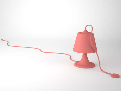 Colorfully Corded Lamps