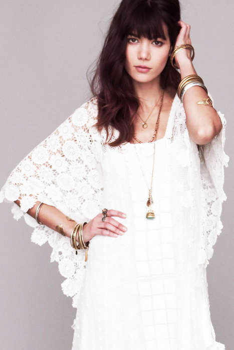 Spirited Bohemian Frock Collections