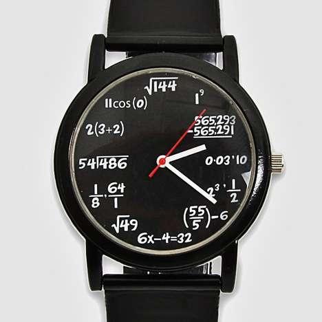 Mathematical Timepieces