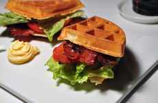 Simply Savoury Brunch Sandwiches - The Waffle BLT Combines Breakfast and Lunch into One Yummy Brunch