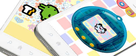 Toy-Resurrecting Apps - The Tamagotchi iPhone App Lets You Relive Your Childhood