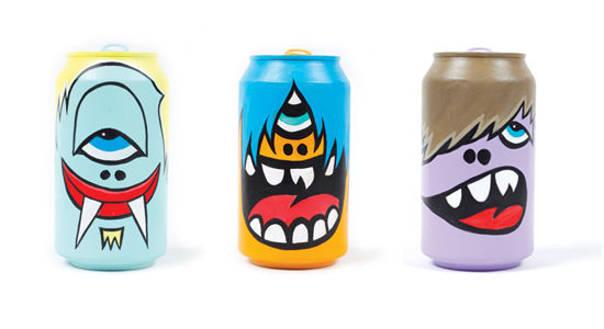 14 Creatively Branded Pop Cans