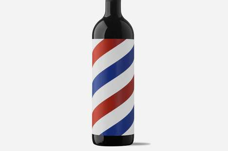 Barbershop Beverage Branding