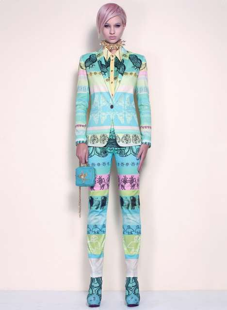 Flamboyant Seapunk Fashions
