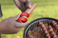 Spiral Sausage Slicers - The Cyclone Twist & Score Aids in Cooking Hotdogs Evenly
