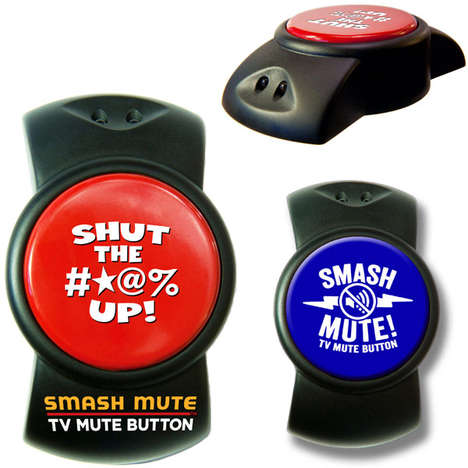 Smashable TV Mute Buttons
