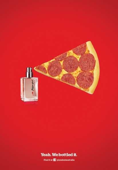 Pepperoni Pizza Perfume Ads