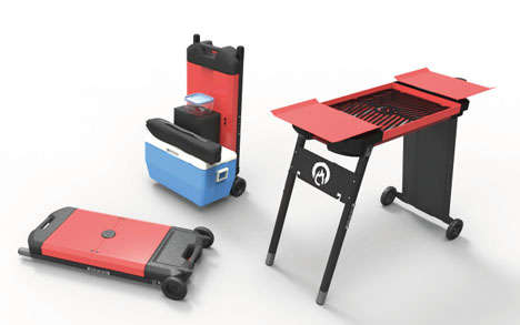 Hand Truck Barbecues