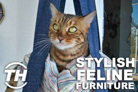 Stylish Feline Furniture - Jaime Neely Unveils Furniture for Cats That Keep Kitties Chic