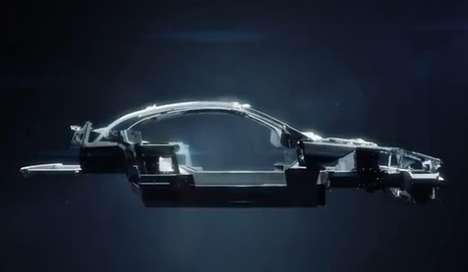 Futuristic Carbon-Fiber Cars