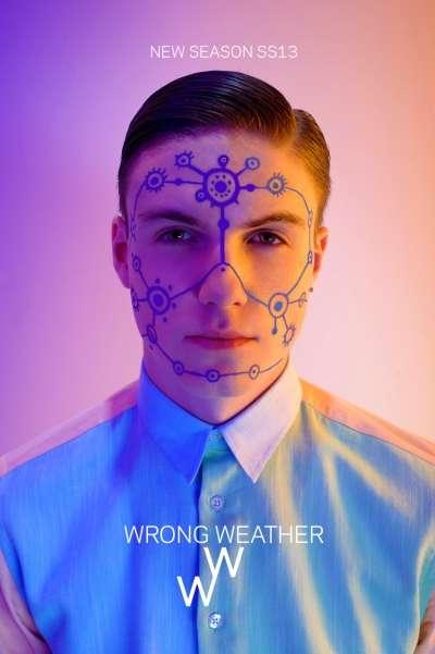 Futuristic Face Paint Ads